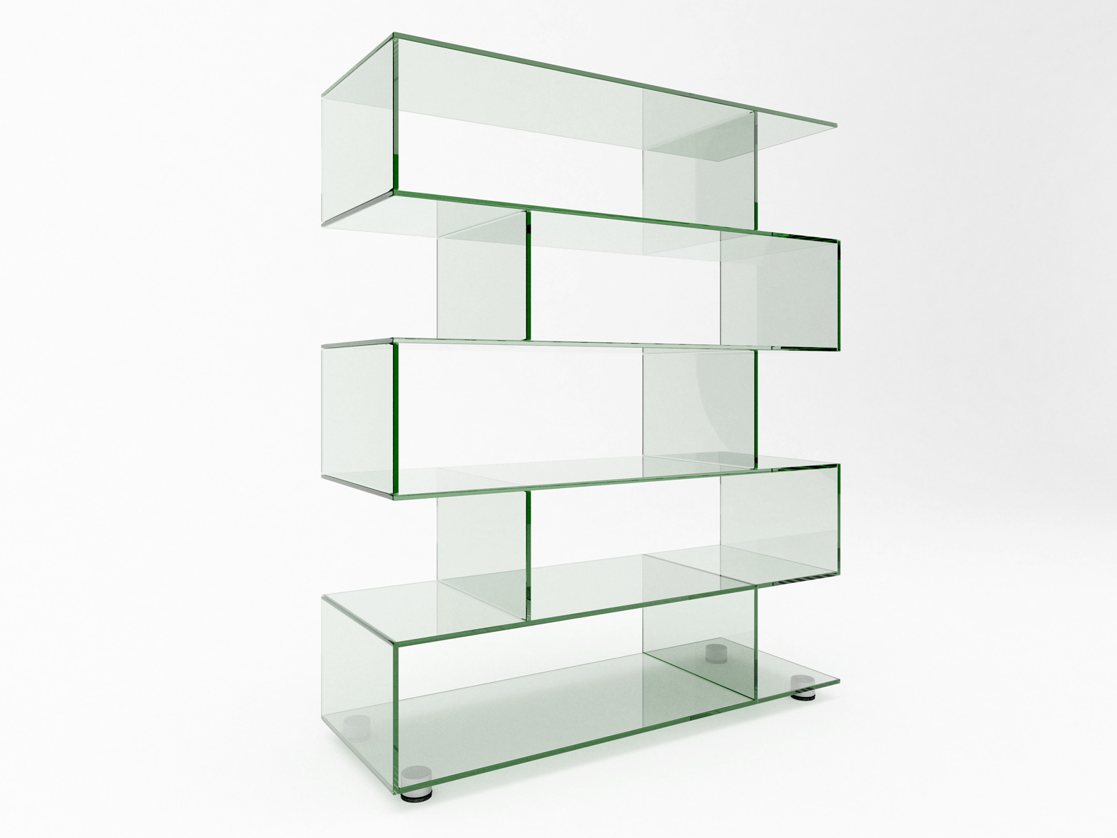 Lissi display Bespoke glass furniture