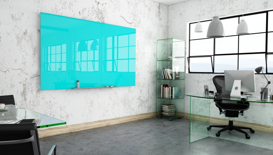 Multi-coloured Glass Writeboards: A Stylish Office Addition to Suit Your Brand