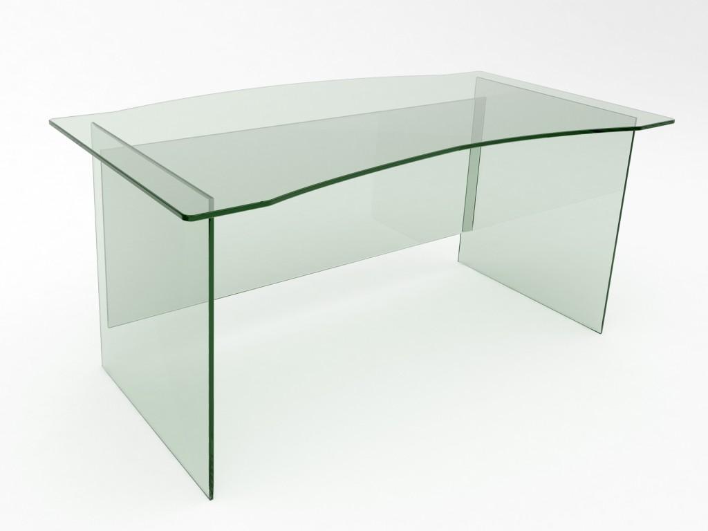 Divri Glass Desk