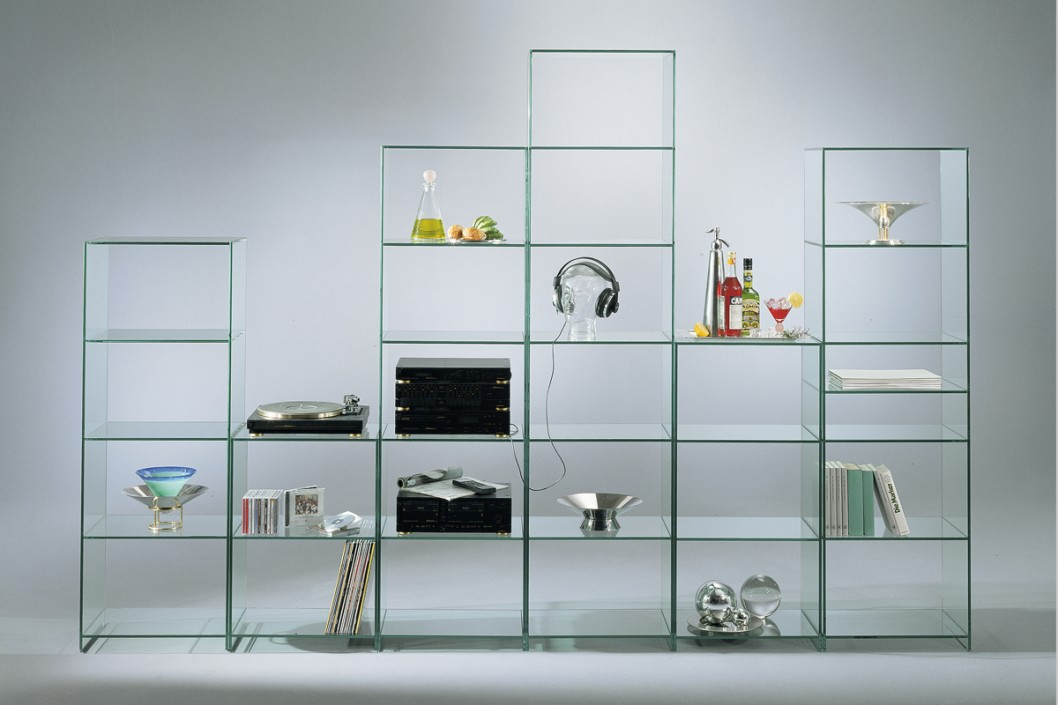 GlassLab Shelving Units