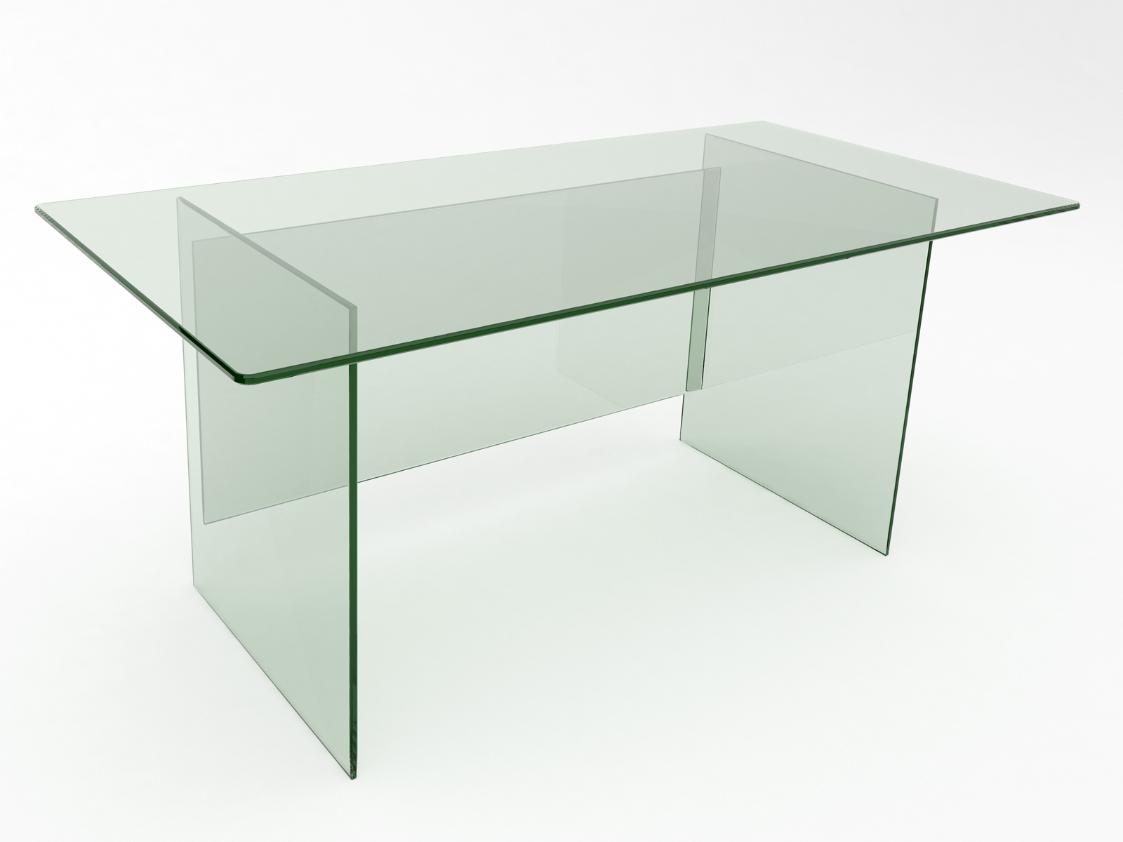 Kalon Glass Desk