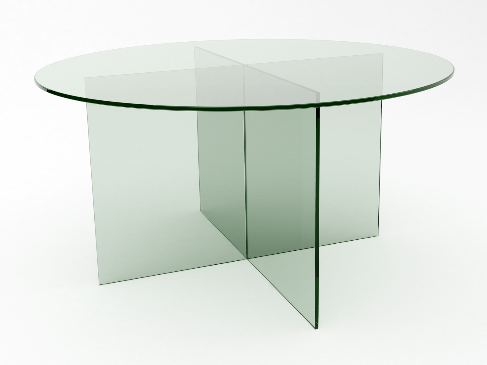 Movri Glass Meeting Table