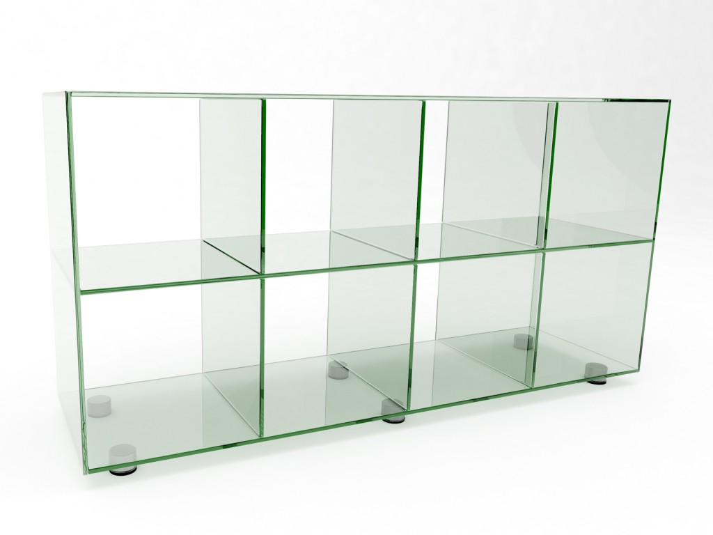 The Glasslab Shelving Range In Detail From Ossa To Lissi
