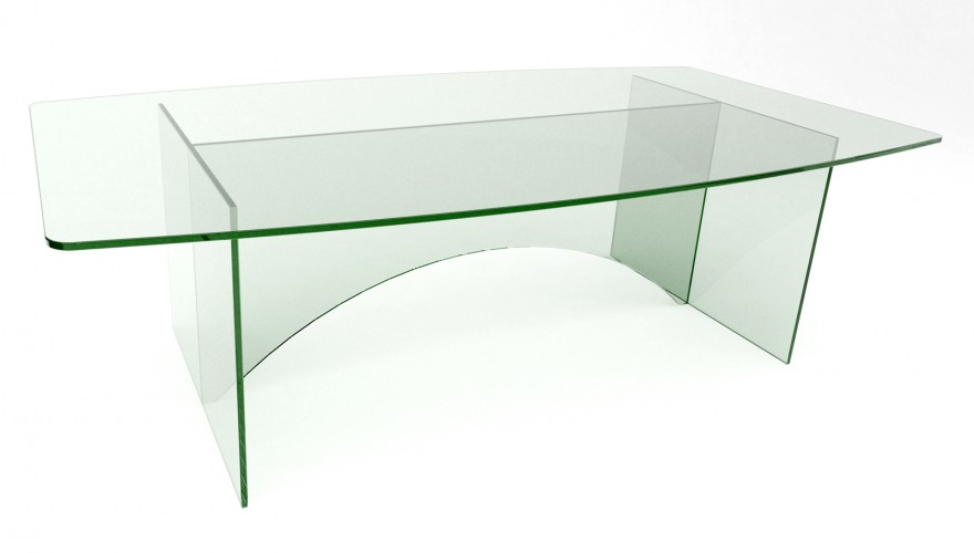 A detailed look at our stunning range of glass boardroom tables