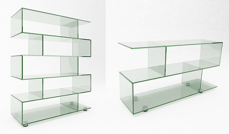Glasslab Lissi Sideboard And Display Unit